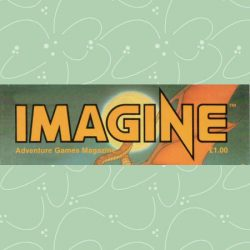 Imagine Adventure Games Magazine