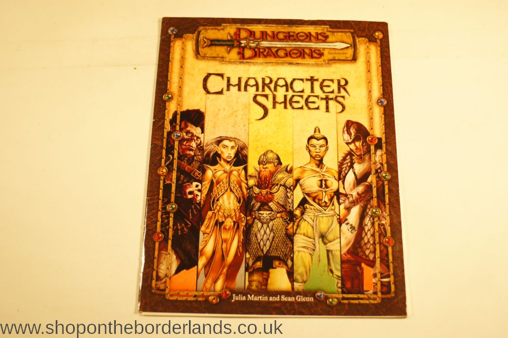 D D 5e Character Sheet Double Sided Printable: Character Sheets, Accessory For D&D 3rd Edition