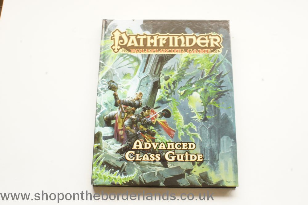 Advanced Class Guide, hardback rulebook for Pathfinder