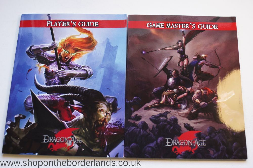 Dragon Age Dark Fantasy Roleplaying - Set 2: For Characters Level 6 to 10,  boxed set for Dragon Age