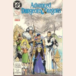 Dungeons & Dragons and Pathfinder Comics and Graphic Novels