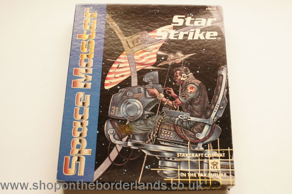 Star Strike, boxed space combat game for Space Master