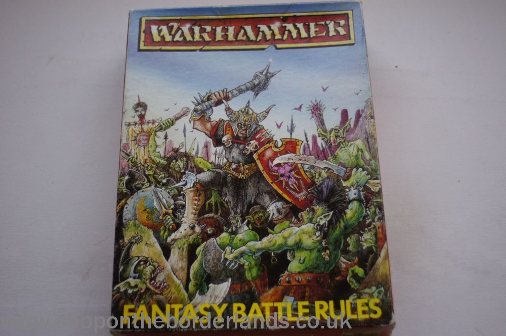Warhammer Fantasy Battle Rules (2nd edition), boxed miniatures rules
