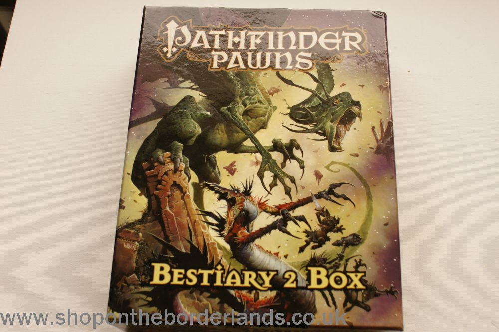 Pathfinder Pawns - Bestiary 2 Box, boxed accessory for Pathfinder