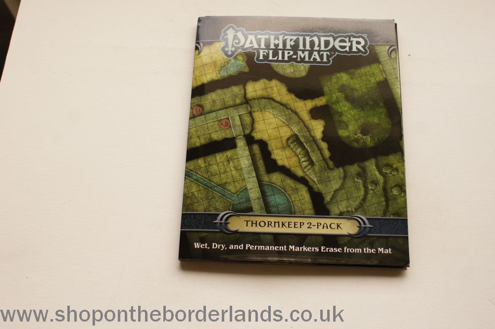 Pathfinder Flip Mat Thornkeep 2 Pack Accessory For