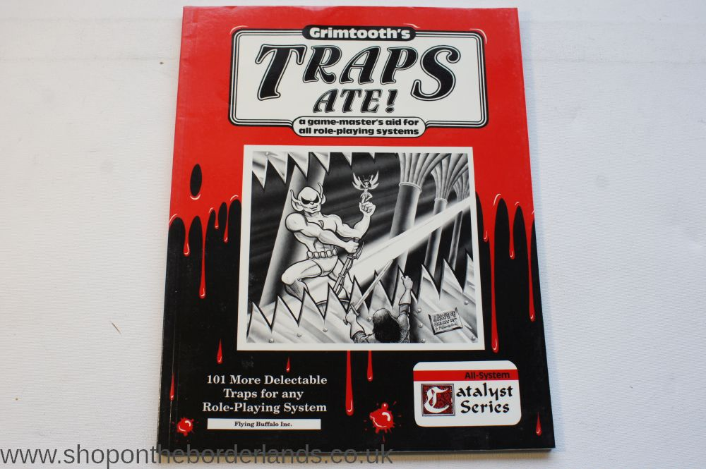Grimtooth's Traps Ate!, softback supplement for any fantasy RPG