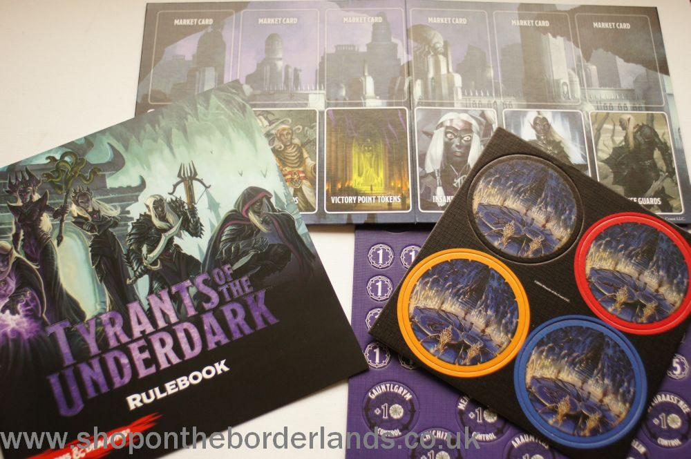 Tyrants of the Underdark, boxed Forgotten Realms board game