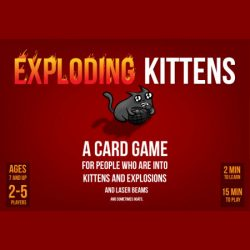 Exploding Kittens & Bears vs Babies