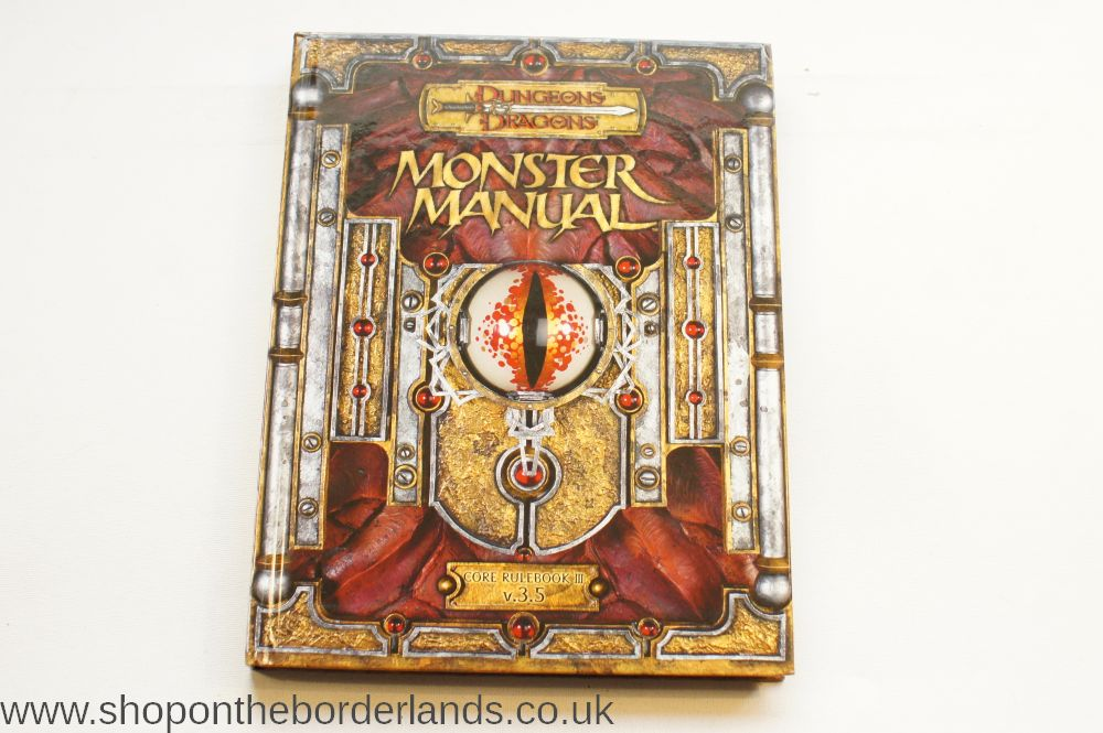 D U0026d 5th Edition Core Rulebook Monster Manual For Sale Manual Guide