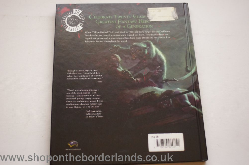 A Reader's Guide to R A  Salvatore's The Legend of Drizzt, hardback  Forgotten Realms book