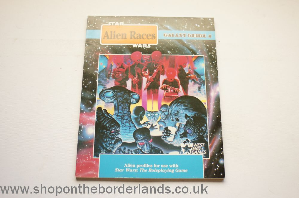 Galaxy Guide 4: Alien Races, softback supplement for Star Wars (West End)
