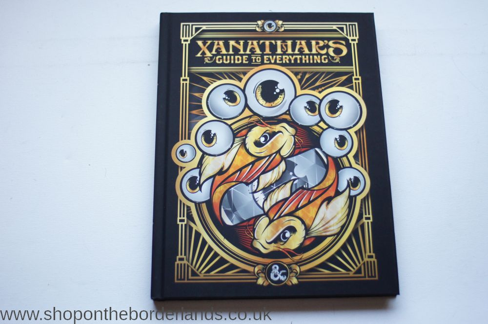 Xanathar's Guide to Everything LIMITED EDITION, hardback rulebook for D&D  5th edition