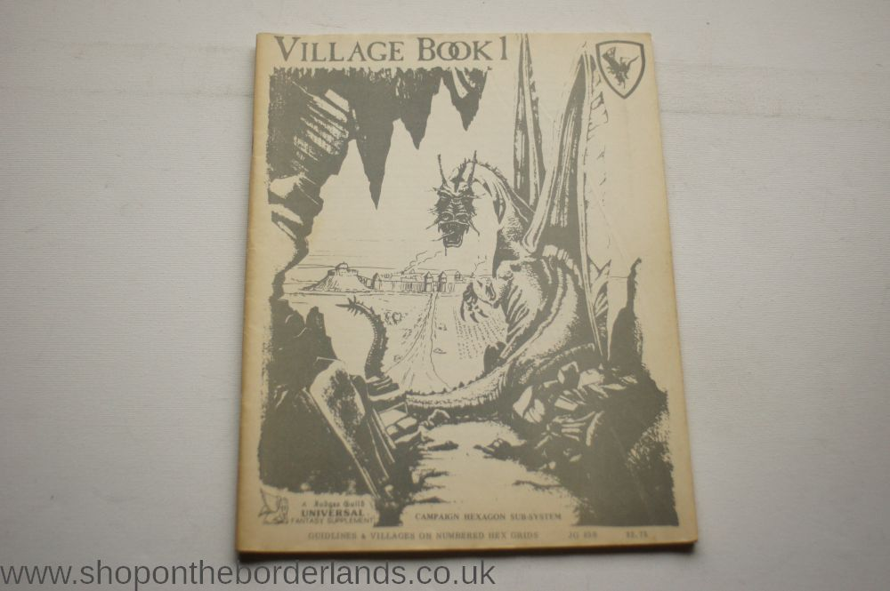 Village Book 1 3rd Printing Softback Supplement For
