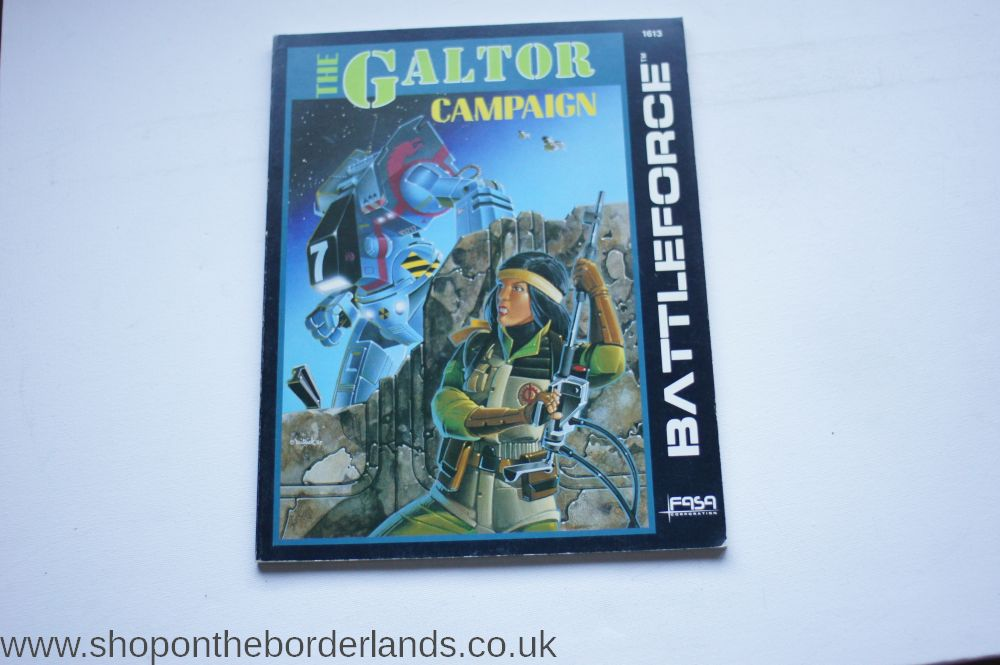 The Galtor Campaign, softback scenario pack for BattleTech