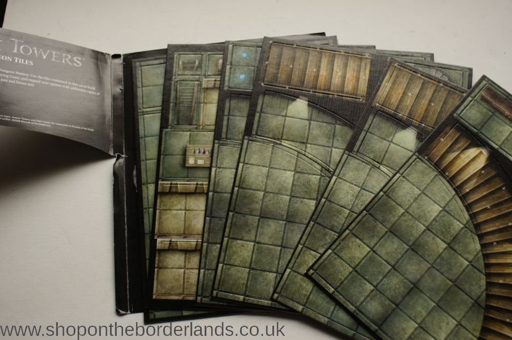 Arcane Towers Dungeon Tiles (DU4), accessory for D&D 4th edition (and any  fantasy RPG)
