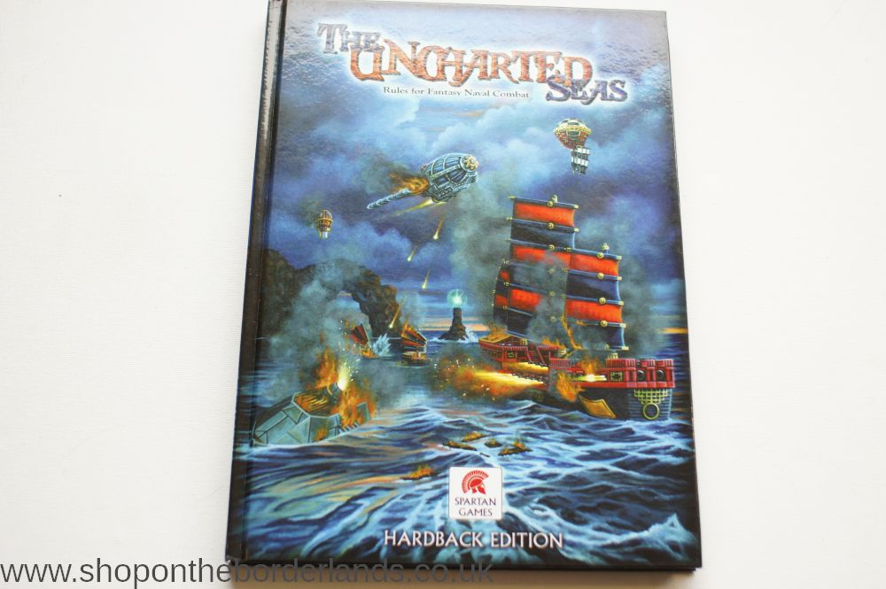 The Uncharted Seas - Rules For Fantasy Naval Combat, hardback miniatures  rules