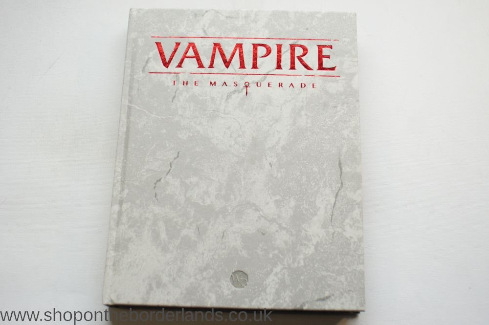 Vampire: The Masquerade 5th Edition Deluxe Core Rulebook, hardback  roleplaying game