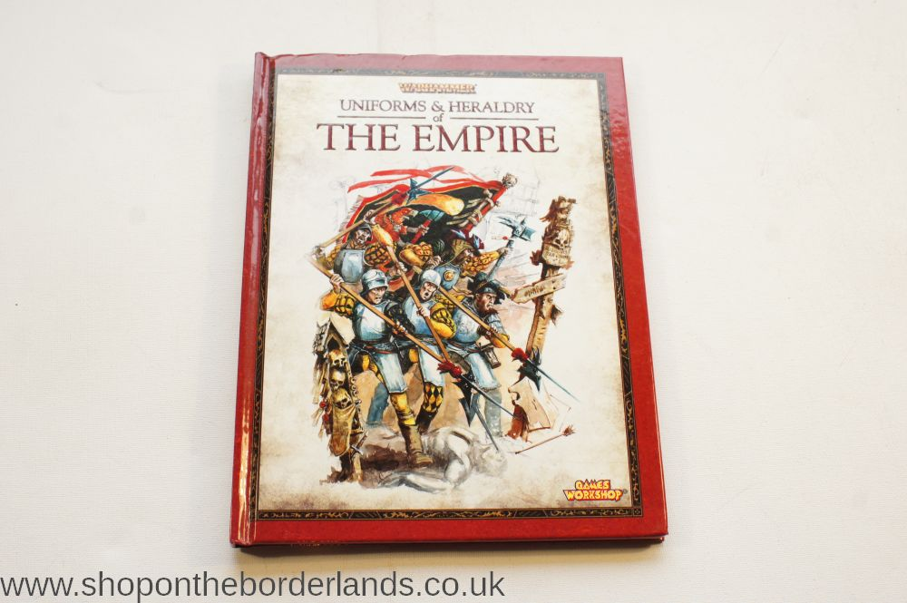 Uniforms & Heraldry of The Empire, hardback supplement for Warhammer  Fantasy Battles